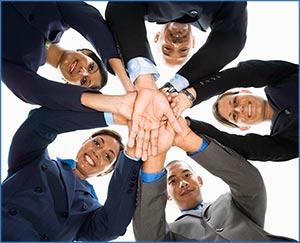 logistics consultants executives coming together