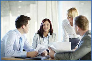 meeting in board room shipping costs